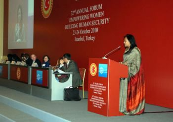 32nd Annual Forum of Parliamentarians for Global Action (PGA)